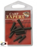 CARP EXPERT 10 TAIL RUBBERS GREEN