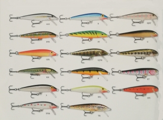 RAPALA ORIGINAL FLOATER F-18