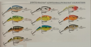 RAPALA JOINTED SHAD RAP JSR-7