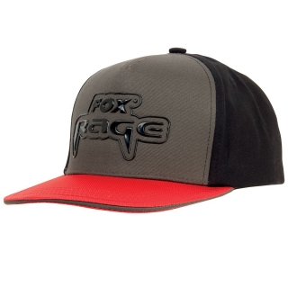 FOX RAGE SNAPBACK BLACK/GREY/RED