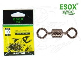 ESOX RAPTOR ROLLING SWIVEL